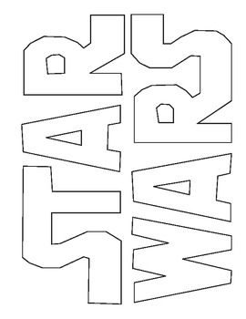 star wars logos star wars and coloring on pinterest