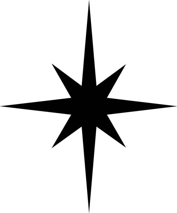 Free Christmas star svg file click on 'telecharger