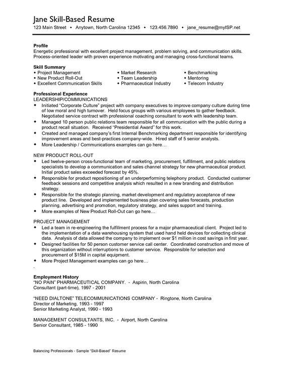 model resume for job sample resume for job application examples of