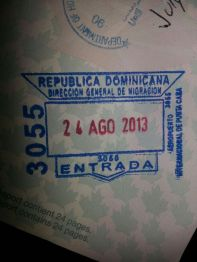 Image result for dominican republic passport stamp