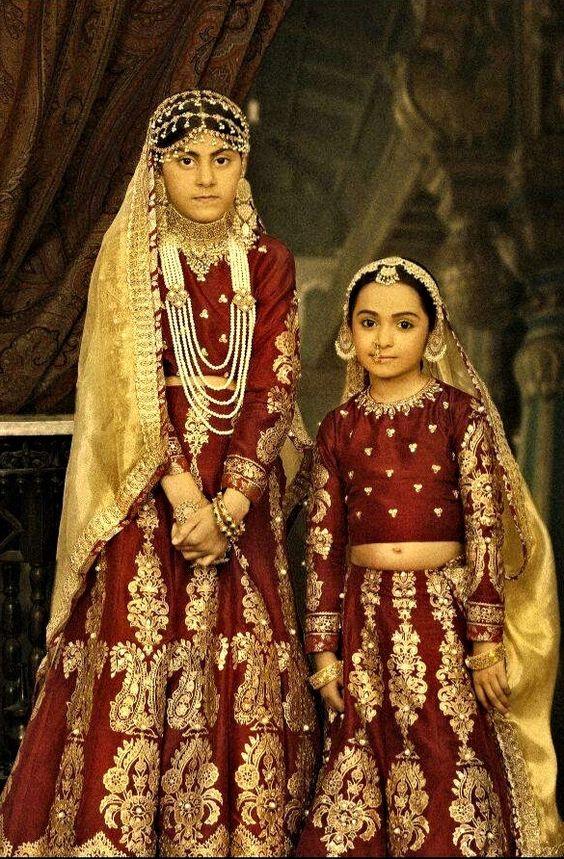 "By Ali Xeeshan's ""The Royal Family Portraits"" ( Mughal"