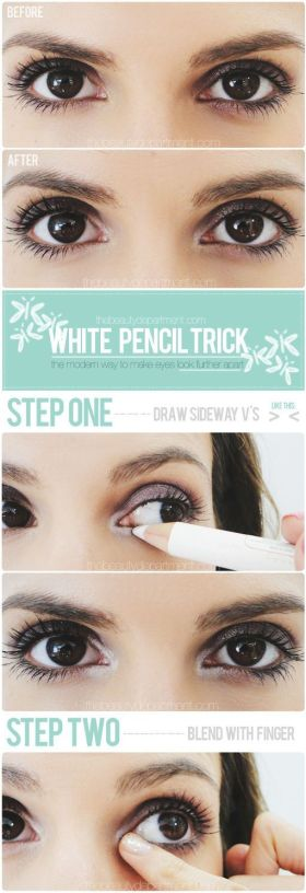 White eyeliner are winter makeup looks that you can rock all year!