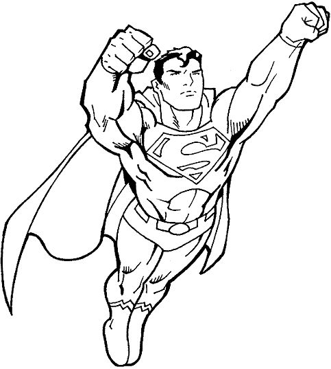 superman coloring pages and coloring on pinterest