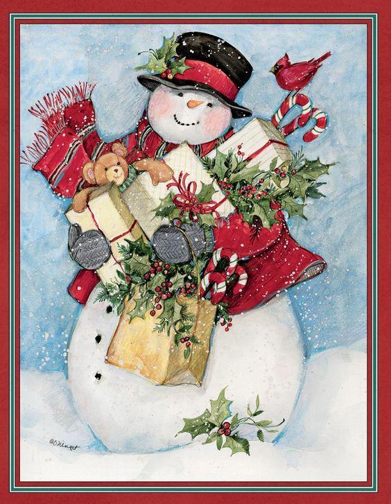 Susan Winget Candy Cane Snowman Amp Santa Assorted