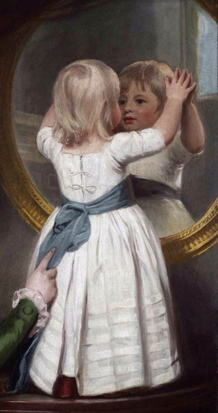 ROMNEY, George -Portrait of Lady Anne Barbara Russell:
