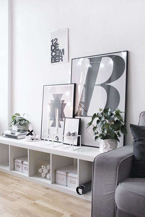 photo wall art prints typography