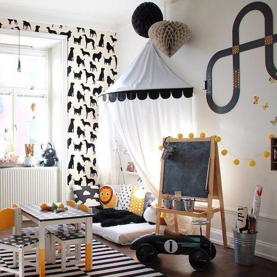35 inspirações para montar uma brinquedoteca em casa! - Just Real Moms: