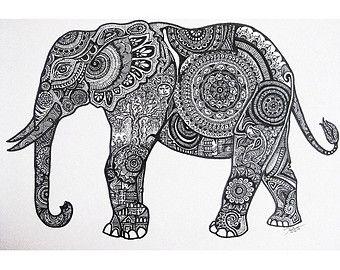 explore coloring elephants zentangles mandalas and more