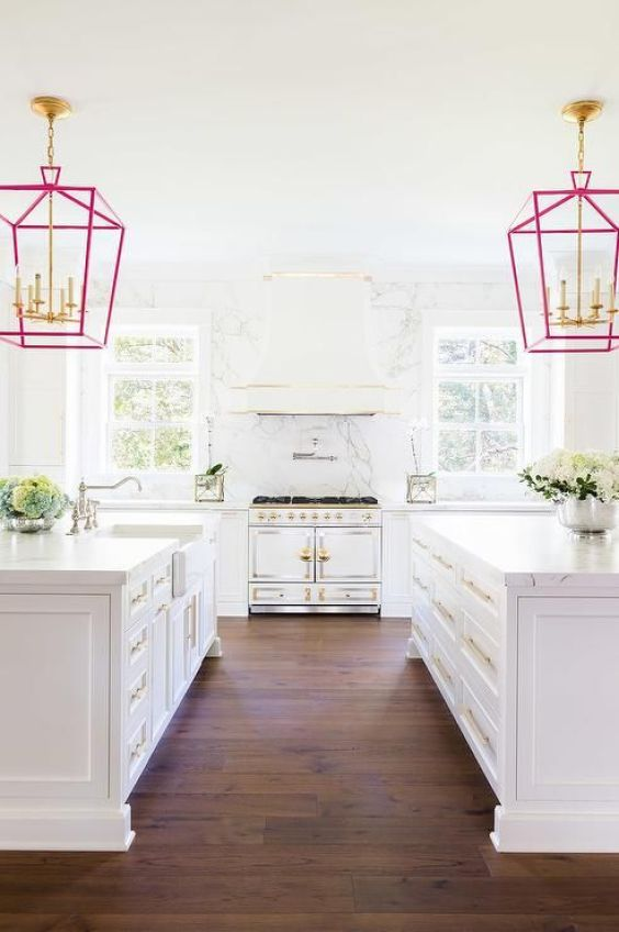dream-kitchen- all white design
