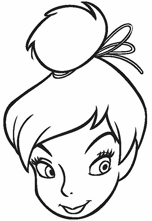coloring pages tinkerbell and coloring on pinterest