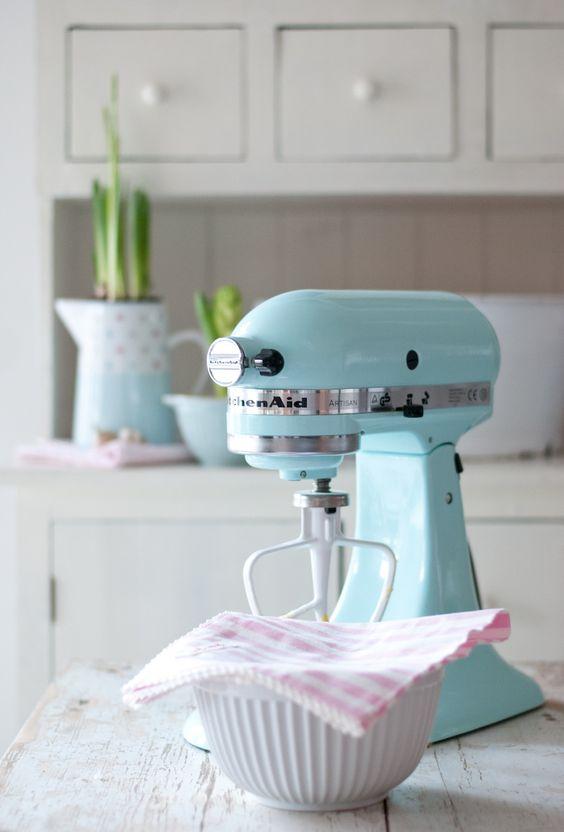 Kitchen Aid Mixer Pastel And Mint Kitchen On Pinterest
