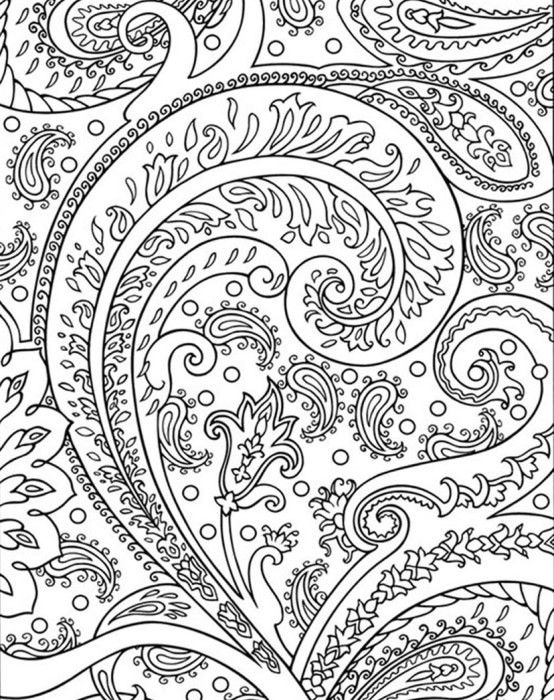 coloring coloring pages and paisley on pinterest