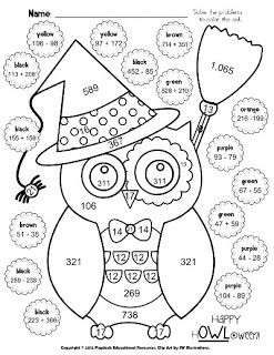1000 images about math coloring sheets on pinterest color by