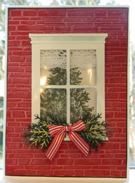 SU Christmas Lodge Spellbinders M Bossibilities Brick E F