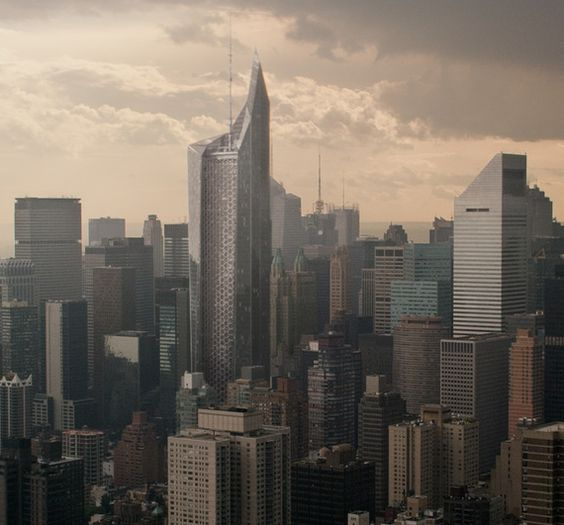 Oscorp Tower showed in Amazing Spiderman