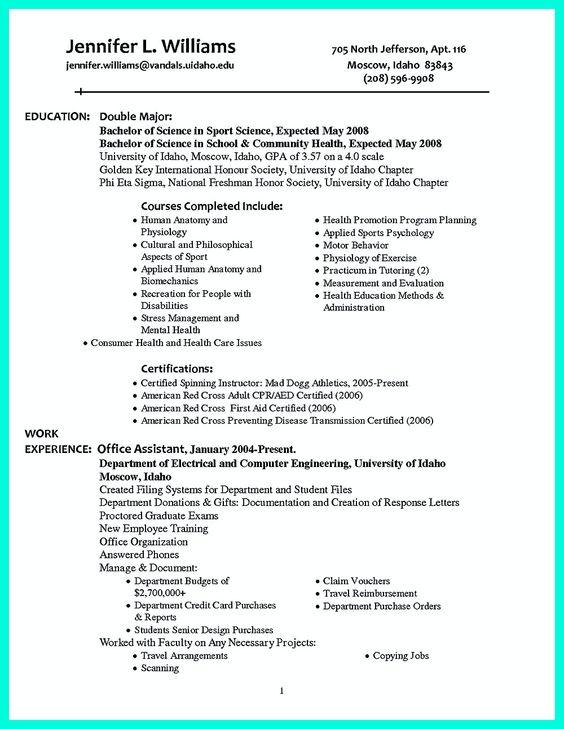 Written Resume Samples. Well Written Resume Samples Good Resume