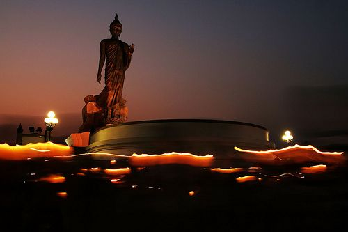 Buddha at Dusk