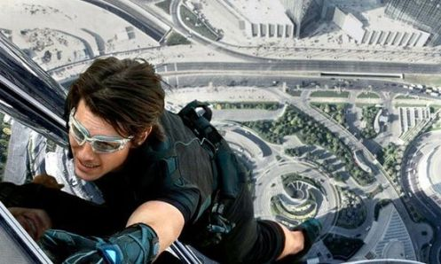 Burj Khalifa in Mission: Impossible