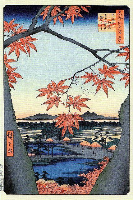 """Résultat de recherche d'images pour """"hiroshige automne"""""""