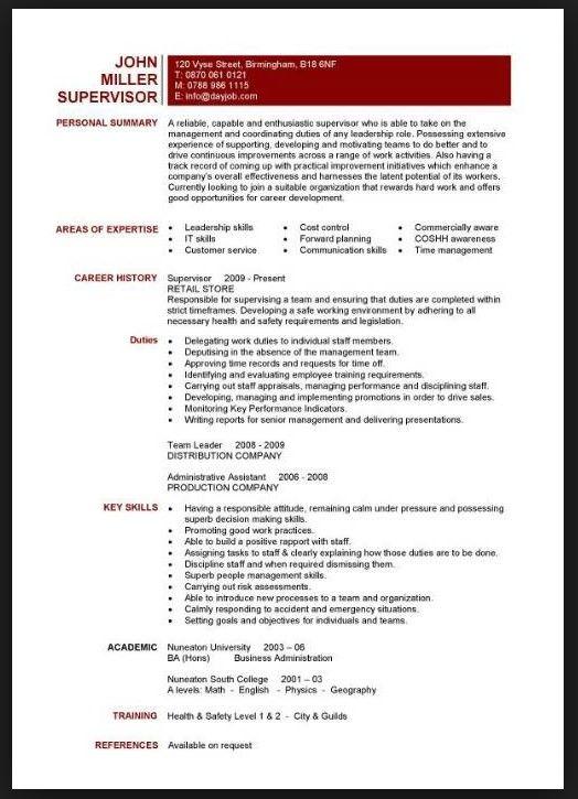 Teacher Skills Resume. sample teacher resume qualifications ...