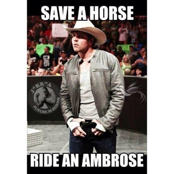 Save A Horse Ride An Ambrose Dean AmbroseJon Moxley