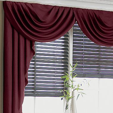 Supreme Antique Satin Cascade Swag Valance Jcpenney Windows Pinterest Shops Back To And
