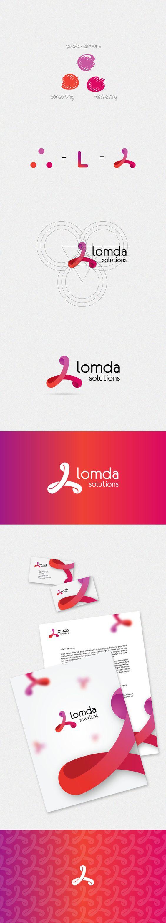 lomda Logo Design on Pinterest Creative, Logo design