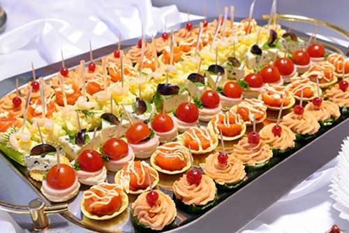 Wedding Appetizer And Food