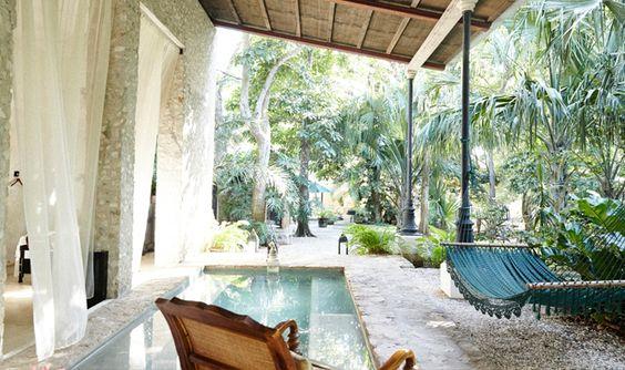 Coqui Coqui La Perfumeria is a one-room retreat tucked in the Yucatan Magic Town of Valladolid. | http://www.journeymexico.com/hotel/coqui-coqui-valladolid: