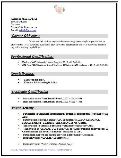 marketing resume resume and best resume on pinterest