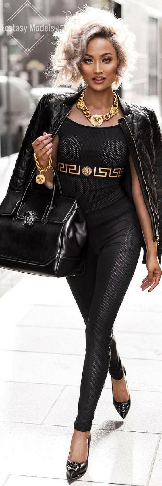 Versace Slay // Fashion Look by Micah Gianneli: