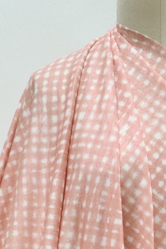 Peachy Keen Linen Knit: