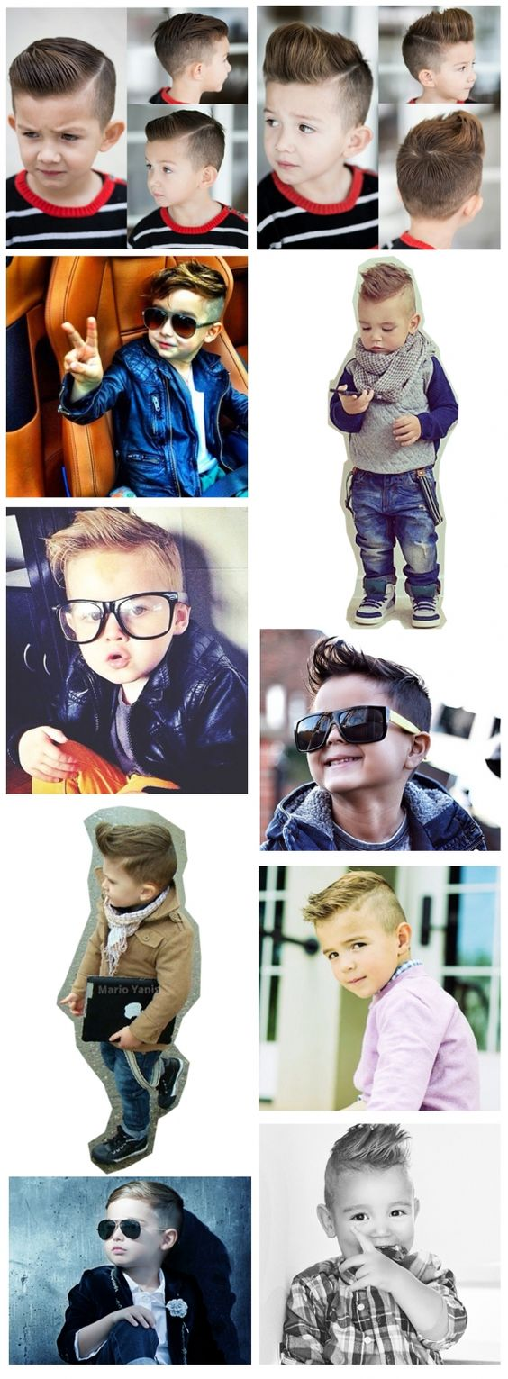 Kids/Boys hair cut and style inspiration for the special