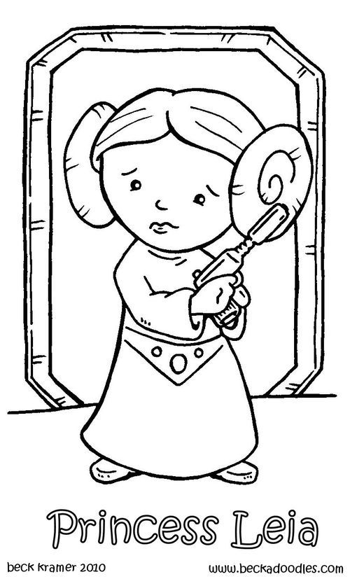 princess leia coloring pages and coloring on pinterest