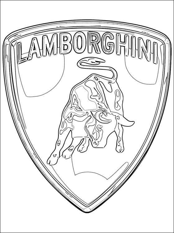 lamborghini coloring pages and coloring on pinterest