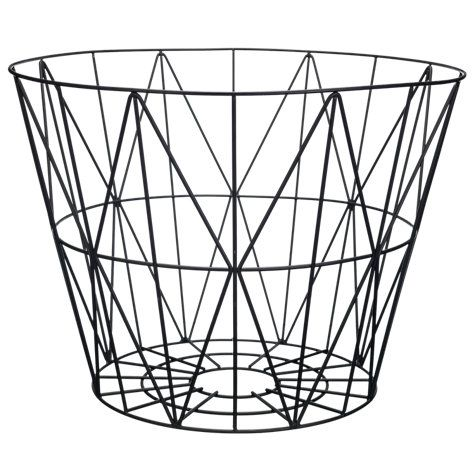 wire storage storage baskets and large black on pinterest