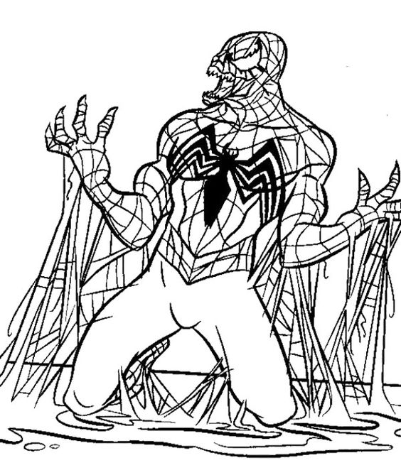anti venom spiderman coloring pages spiderman coloring pages venom