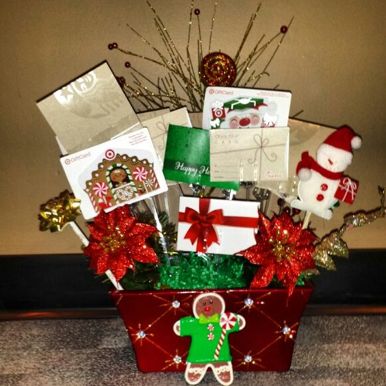 Gift Card Bouquet Who Doesnt Love Gift Cards