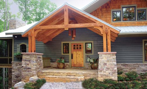 Front Porches, Style And Craftsman Homes On Pinterest