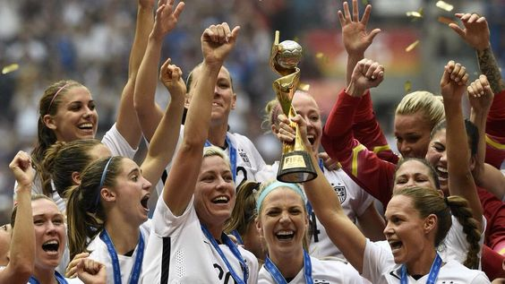 U.S.  WOMEN ARE WORLD CHAMPIONS: