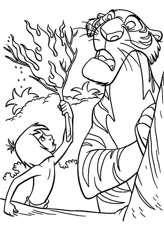 the jungle book coloring pages for kids and coloring pages on