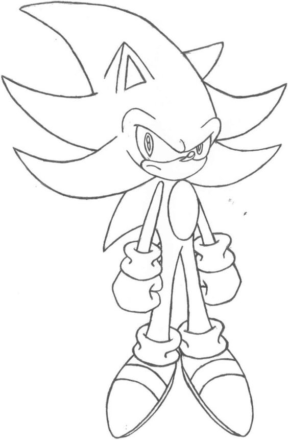 coloring pages sonic the hedgehog and the hedgehog on pinterest