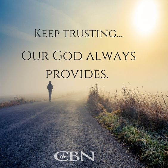 """It's day 3 of #WeekofPrayerCBN! Are you in need of financial restoration? Let us pray with you for God's provision. Remember, Philippians 4:19 says, """"God will meet all my needs according to His riches and glory through Christ Jesus."""":"""