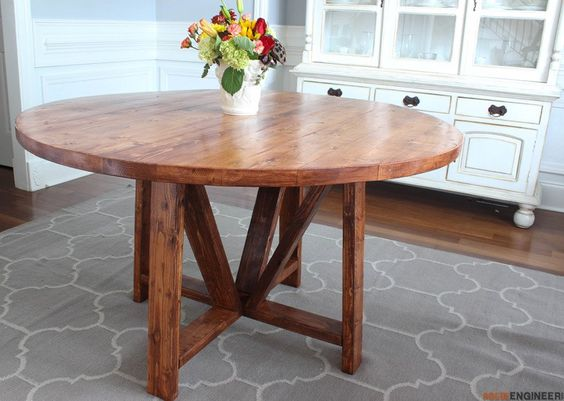 Trestle Dining Tables, Dining Tables And Tables On Pinterest