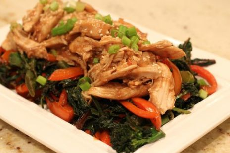 Crock Pot Honey Sesame Chicken: