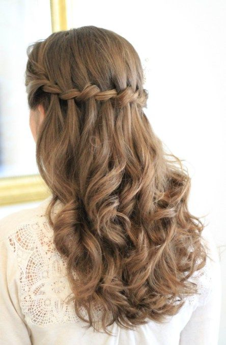Exceptional One Of The Most Gorgeous Prom Hairstyles!