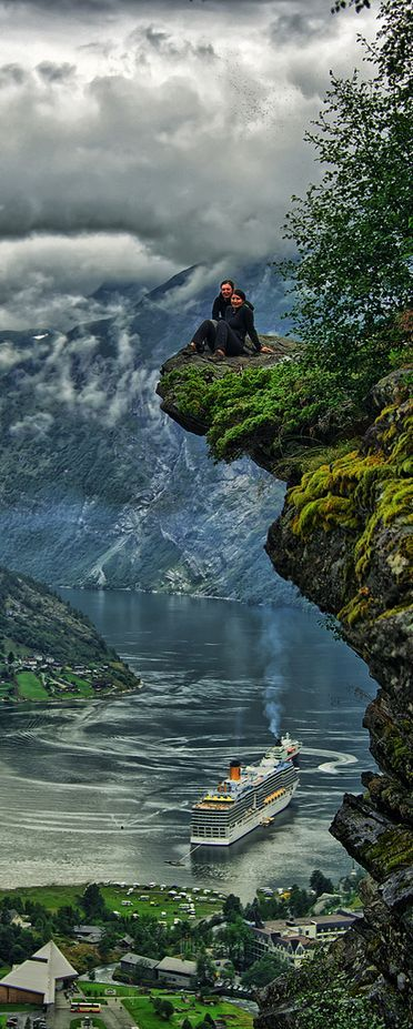 Geiranger, Norway: