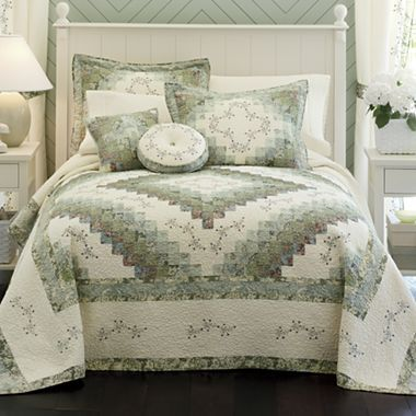 Home Expressions Cassandra Pieced Bedspread Home