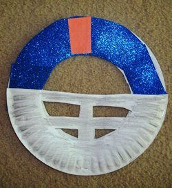football crafts | Fourth of July Beach and Baseball Craft Ideas And Cards, Pirate Hats ...: