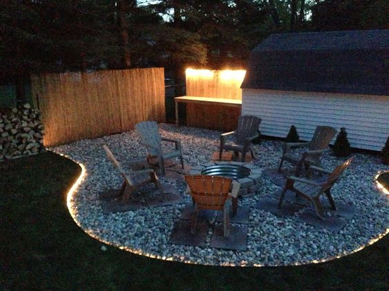 Easy DIY Fire Pit for Backyard on a Budget